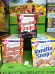 New from XO Baking - Chocolate, Ginger, and Vanilla Snaps